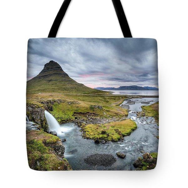 Kirkjufellsfoss 1 Tote Bag