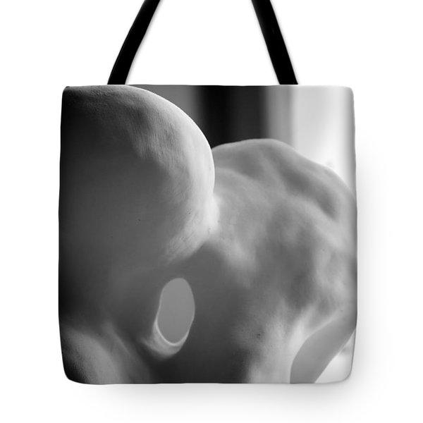 Kiss In Progress Tote Bag by Nathan Larson