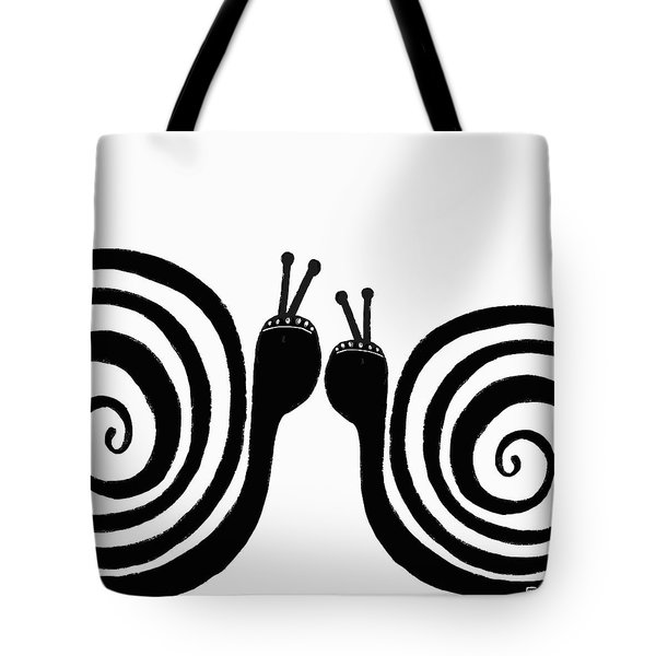 Tote Bag featuring the painting Kiss Me by Lisa Weedn