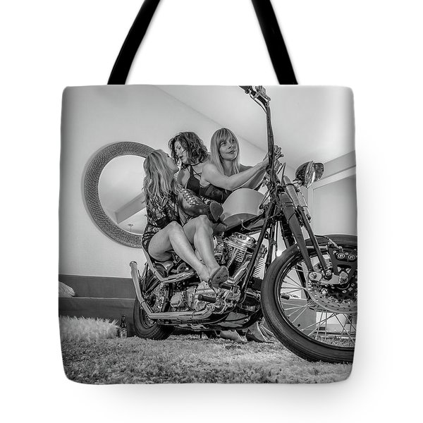 Tote Bag featuring the photograph Kiss Me Now- by JD Mims