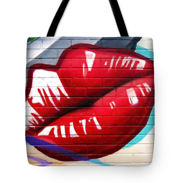 Kiss Me Now ... Tote Bag