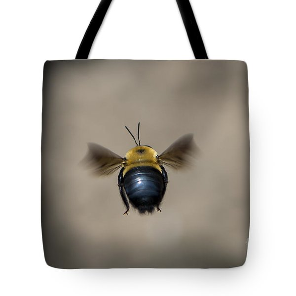 Kiss My Beehind  Tote Bag by Andrea Silies