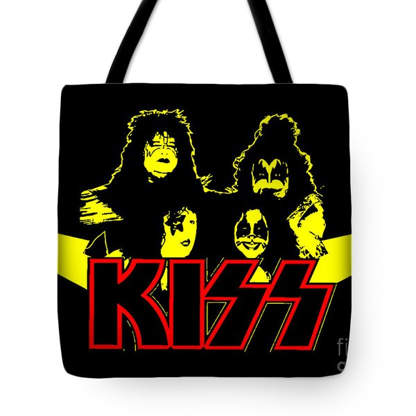 Kiss No.01 Tote Bag by Caio Caldas