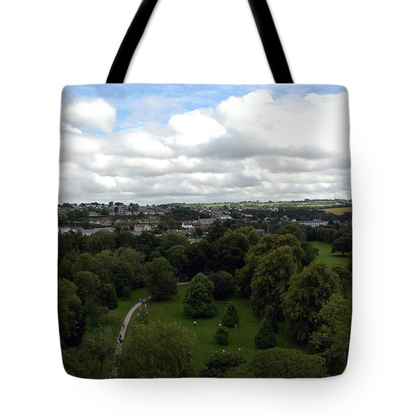 Kiss The Blarney Stone Tote Bag by Dianne Levy