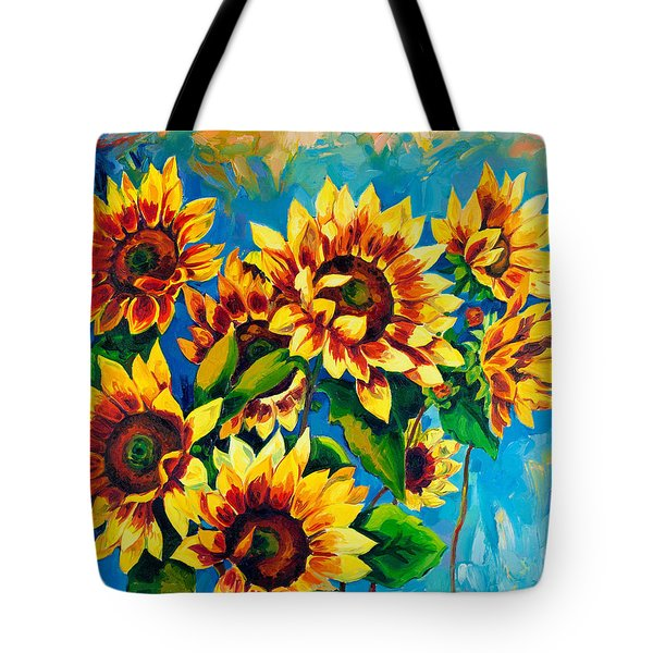 Kissed By God Tote Bag by Karen Showell