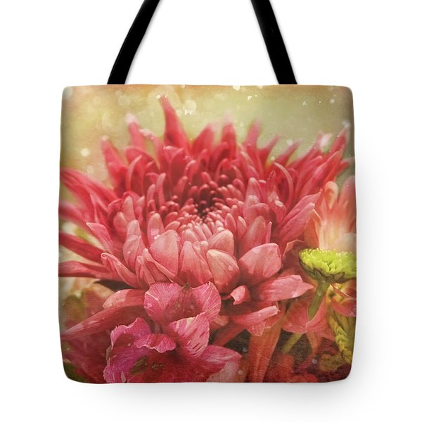 Kissed With Snow Tote Bag