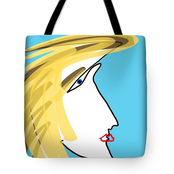 Kisser Tote Bag