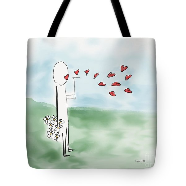 Kisses And Love   Tote Bag