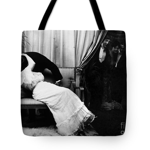 Kissing, C1900 Tote Bag by Granger