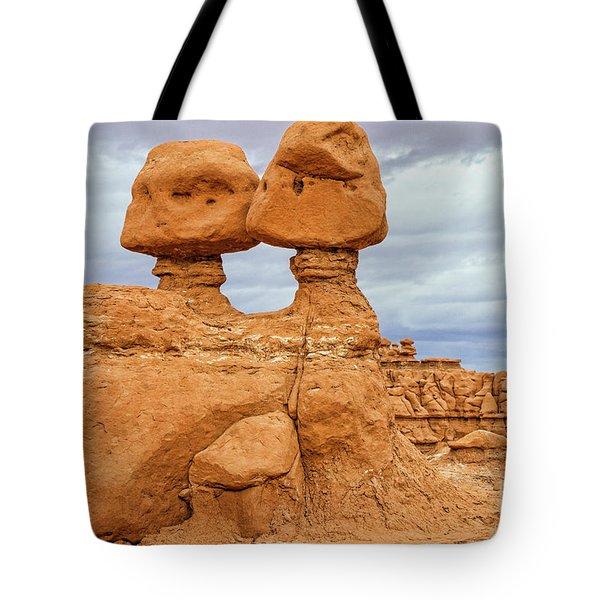 Kissing Rock Tote Bag
