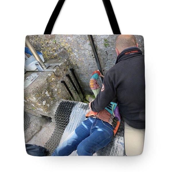 Kissing The Stone Tote Bag