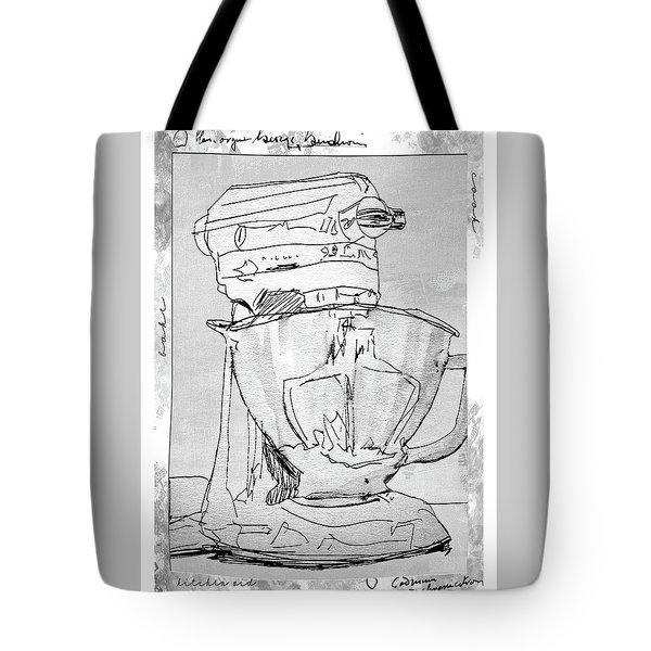 Kitchen Aid Tote Bag by Barbara Andolsek