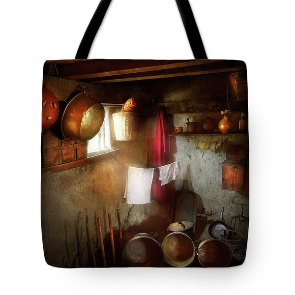 Kitchen - Homesteading Life Tote Bag by Mike Savad