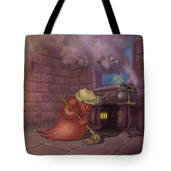Kitchen Monsters Tote Bag