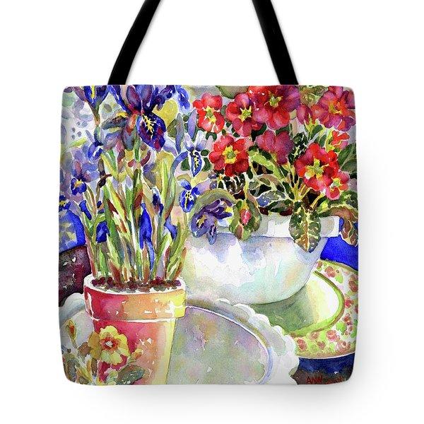 Kitchen Primrose I Tote Bag