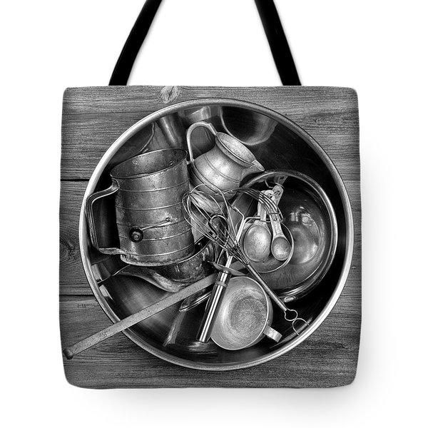 Kitchen Utensils Still Life I Tote Bag