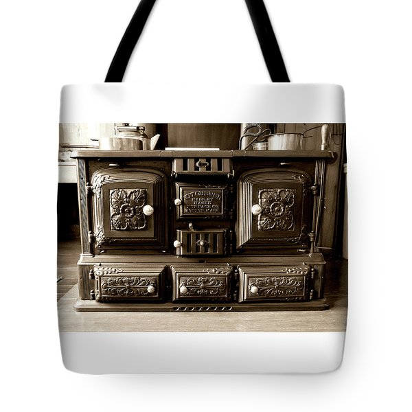 Tote Bag featuring the photograph Kitchener by Greg Fortier