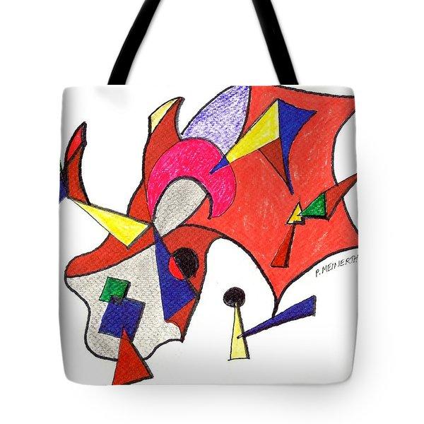 Kite Flying Tote Bag
