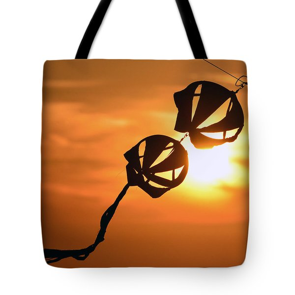 Kite On A String Tote Bag