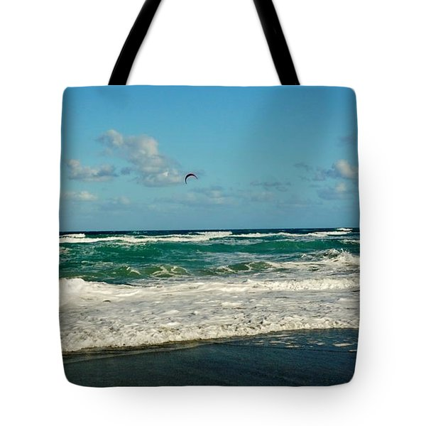 Kite Surfing Tote Bag