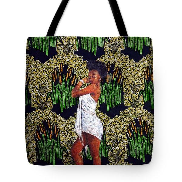 Kitenge Background Series 3 Tote Bag