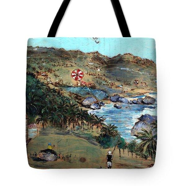 Kites At Bathsheba Tote Bag