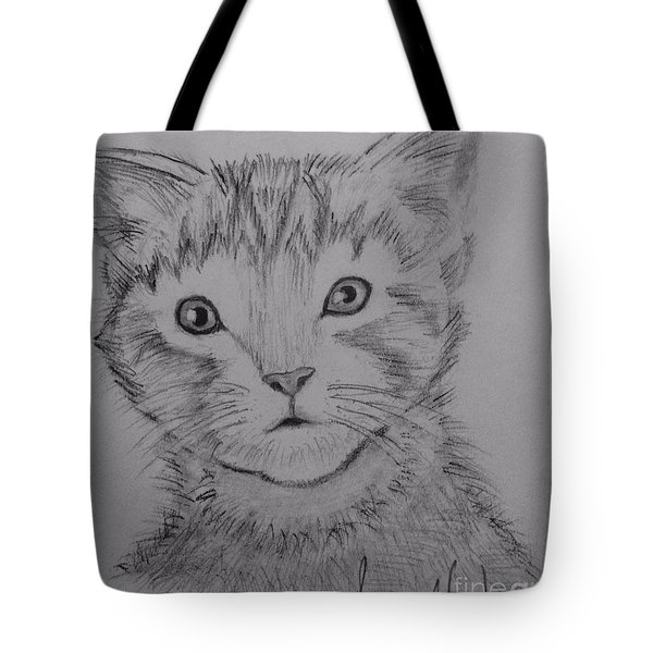 Kitten Tote Bag by Brindha Naveen