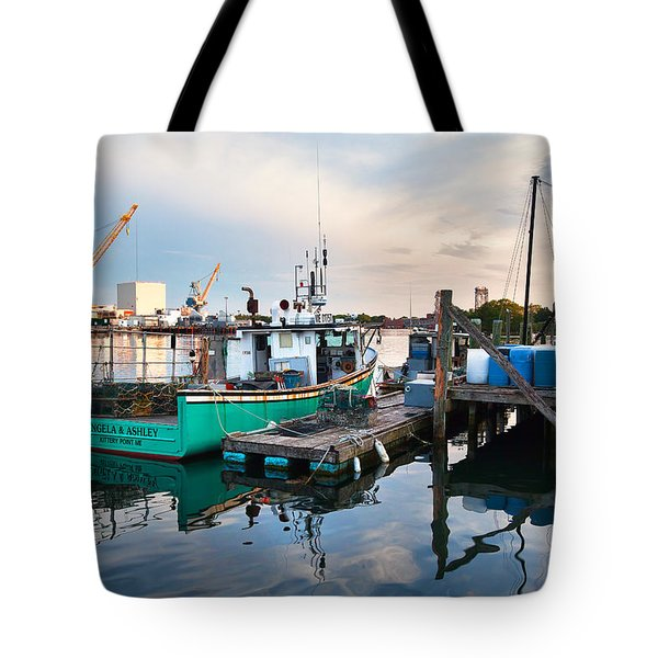 Kittery Foreside Tote Bag by Eric Gendron