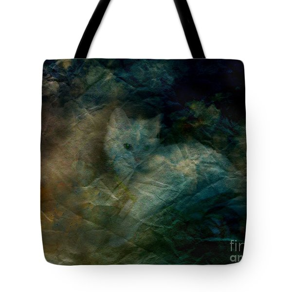 Tote Bag featuring the photograph Kitty Art Rescue 1st Image  Please See Pg 2 By Sherriofpalmsprings by Sherri  Of Palm Springs