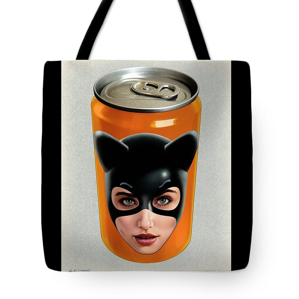 Kitty Can 2 Tote Bag