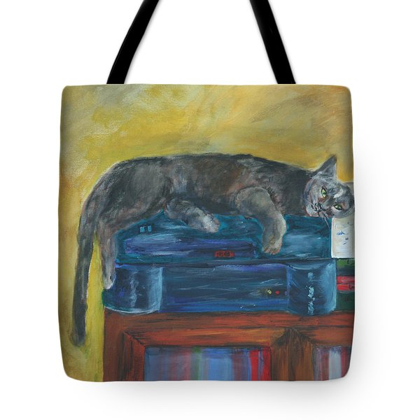 Kitty Comfort Tote Bag