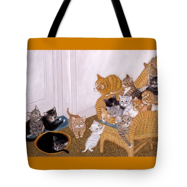 Kitty Litter II Tote Bag