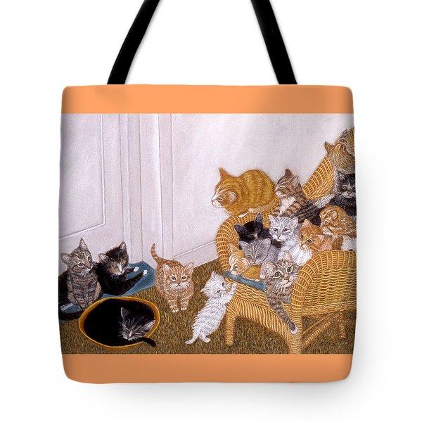 Kitty Litter II Tote Bag