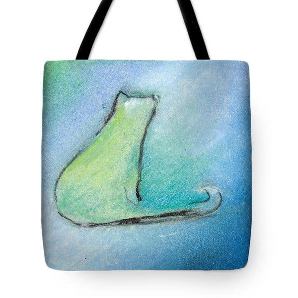 Kitty Reflects Tote Bag
