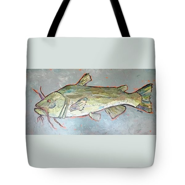 Kitty The Catfish Tote Bag