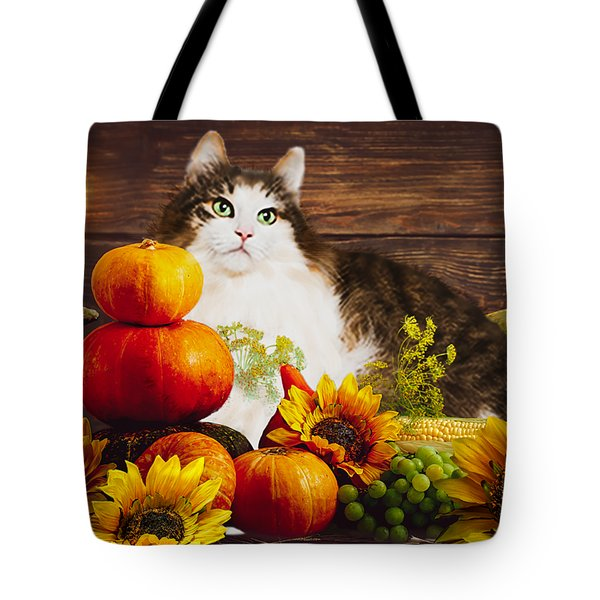Kitty's Harvest Tote Bag
