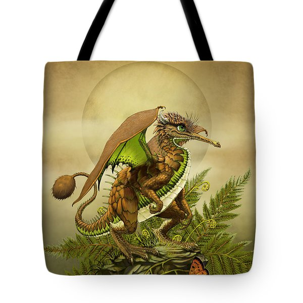 Kiwi Dragon Tote Bag