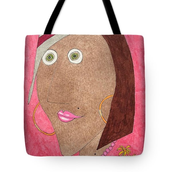 Kiwi Eyes Tote Bag