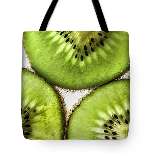 Kiwi Tote Bag by Shirley Mangini