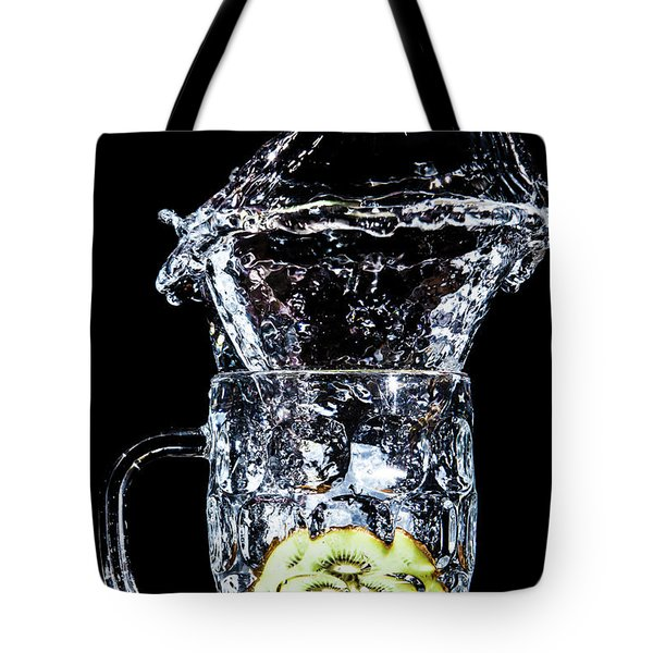 Kiwi Spash Tote Bag