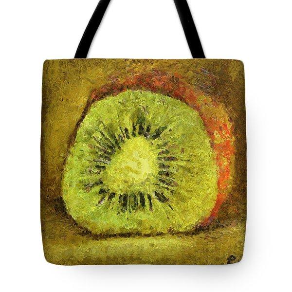 Kiwifruit Tote Bag