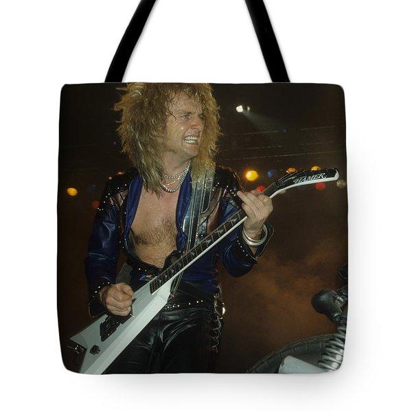 Kk Downing Of Judas Priest Tote Bag