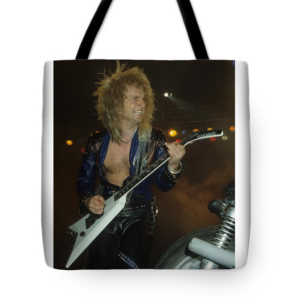 Kk Downing Of Judas Priest Tote Bag