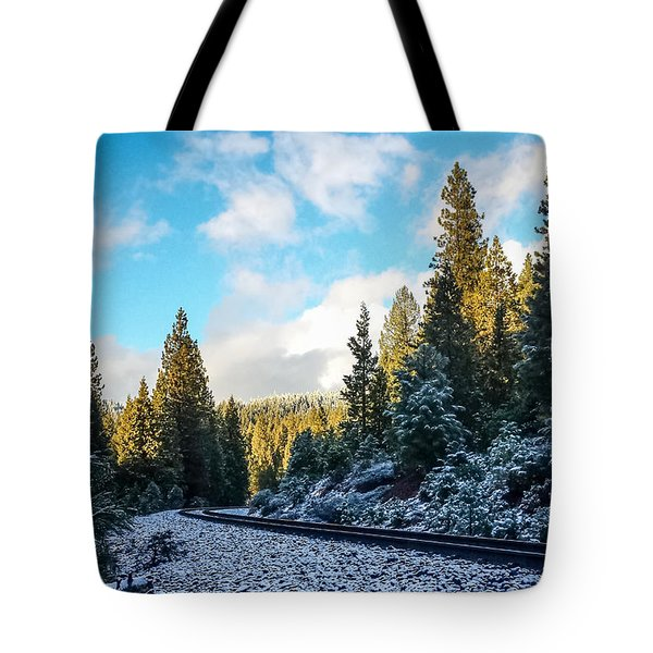 Tote Bag featuring the photograph Kkkold 17 Degrees by Jan Davies