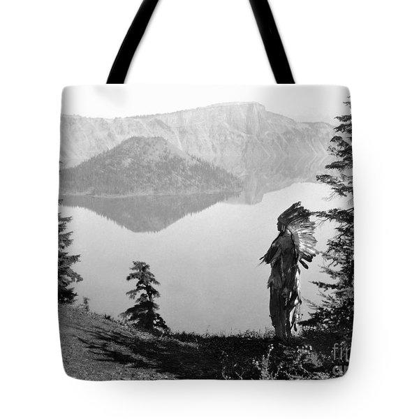 Klamath Chief, C1923 Tote Bag by Granger