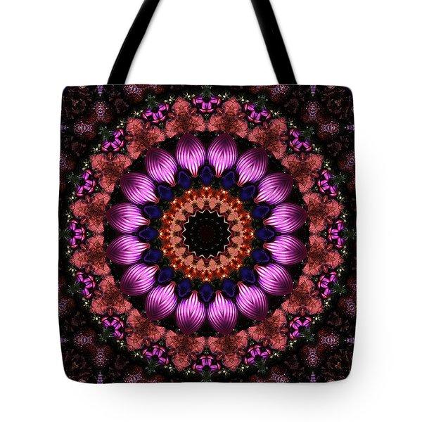 Klassy Kaleidoscope Tote Bag by Lyle Hatch