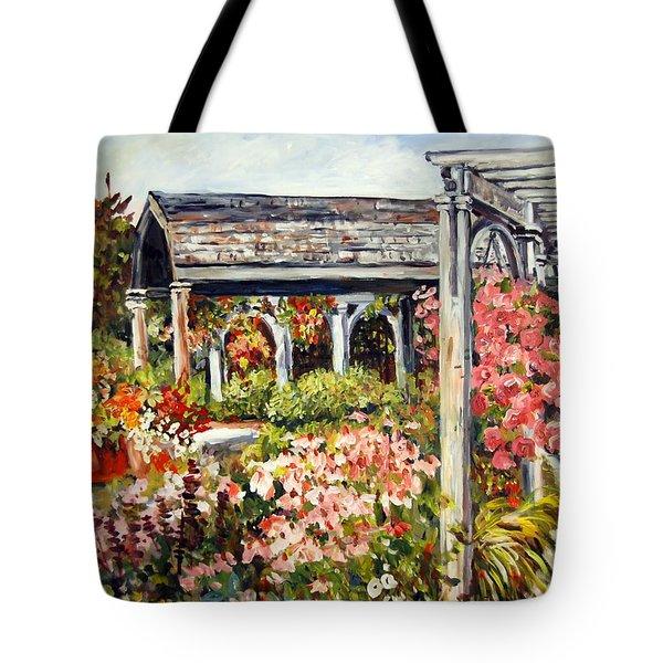 Klehm Arboretum I Tote Bag by Alexandra Maria Ethlyn Cheshire