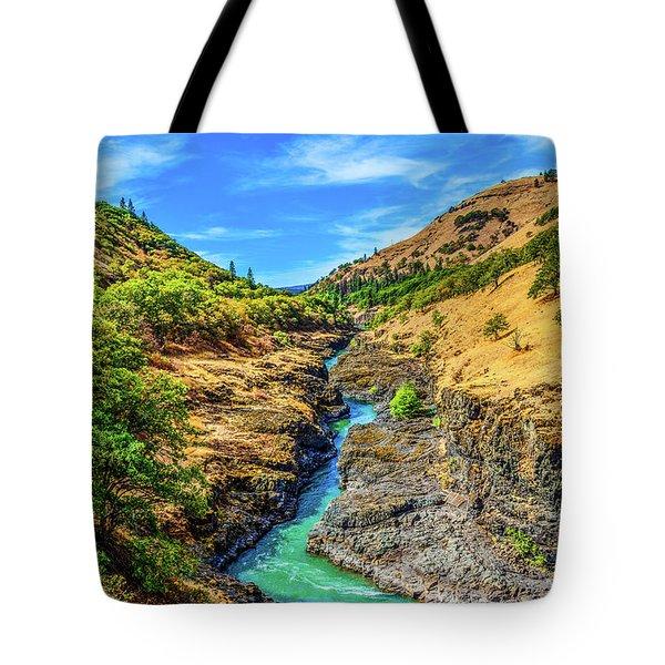 Klickitat River Canyon Tote Bag