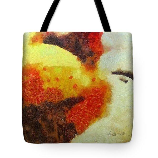 Klimpt Study No. 4 Tote Bag