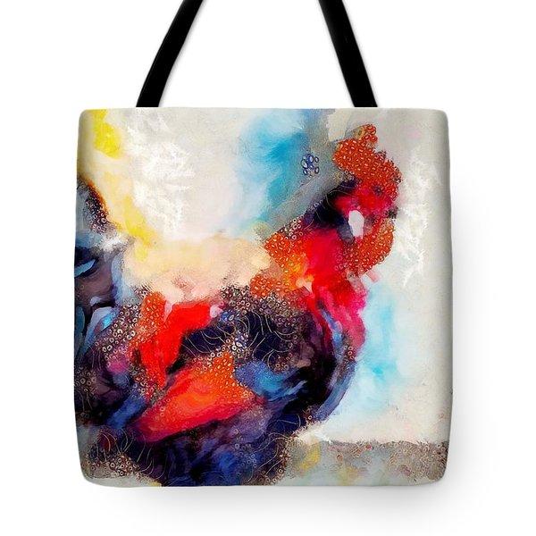 Klimt Cluck Tote Bag